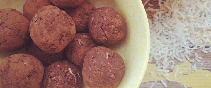 Jaffa bliss balls – nut free